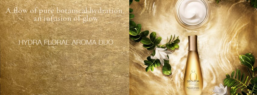 hydra floral, decleor, skin, hydration, glow, aromessence, serum, aroma duo, botanical, natural