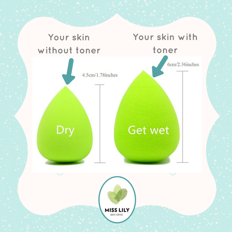 skin care hydration toner sponge beauty westville salon