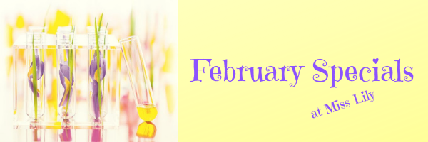 February Specials at Miss Lily