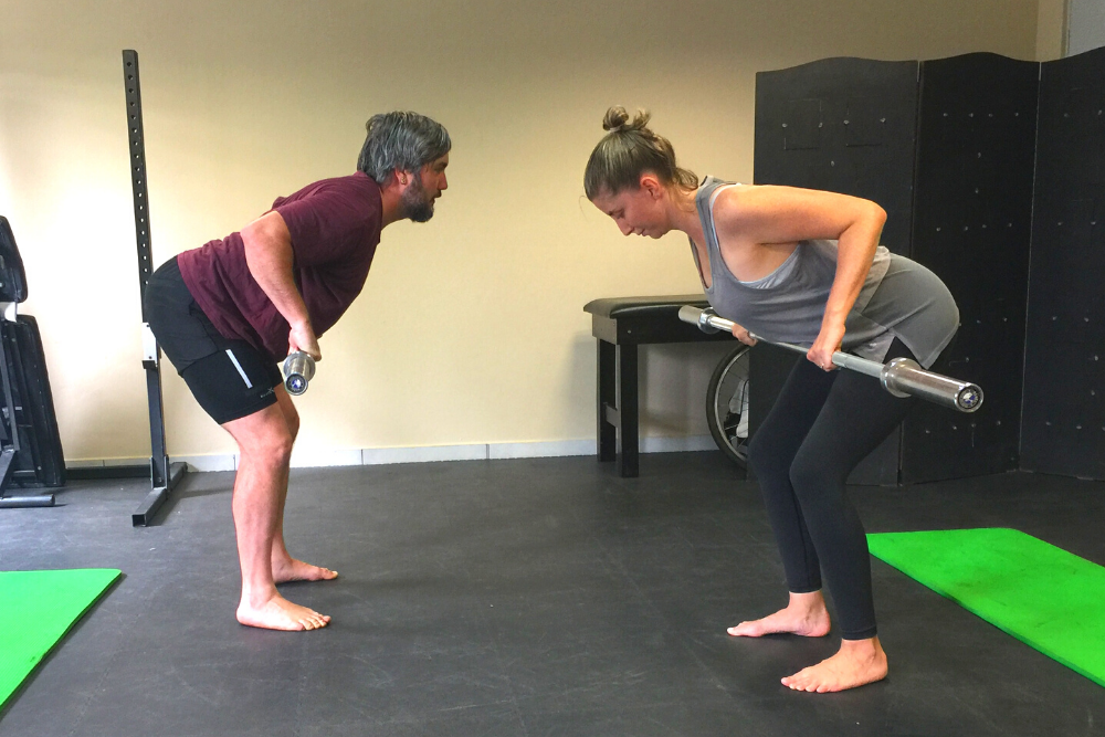 personal training couple